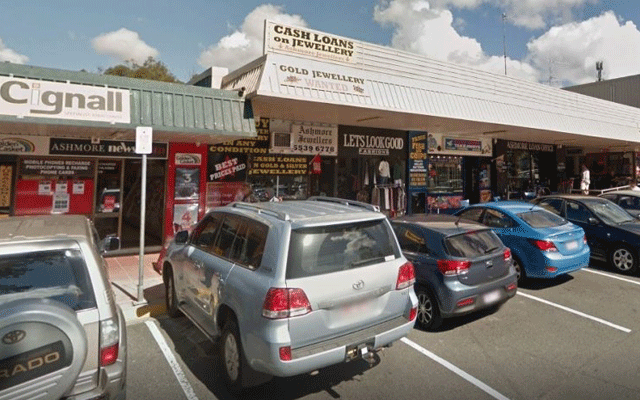 Armed robbery at Gold Coast jewellery store