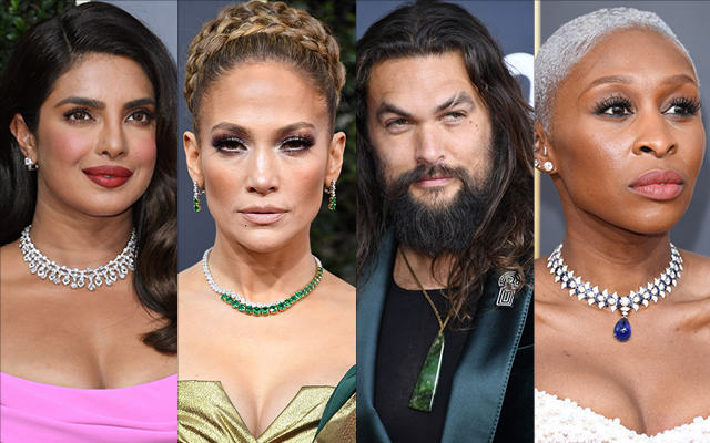 Stars in our eyes: 2020 Golden Globes jewellery looks