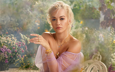 The latest Thomas Sabo collection, 'Magic Garden', has been announced, with pop star Rita Ora as its face.