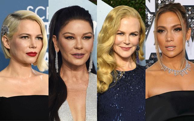 Red carpet jewellery looks: 2020 Screen Actors' Guild Awards