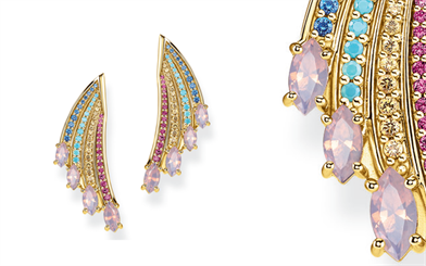 These earrings capture the magic of Thomas Sabo's spring/summer 2020 collection.