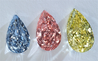 Fancy colour diamond prices rose substantially over the past 10 years.