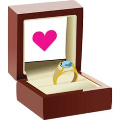 The box of love would be a good present for Valentine's Day