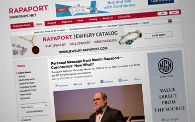 RapNet members have called for the Rapaport Price List to be suspended, while others have withdrawn goods from the platform.