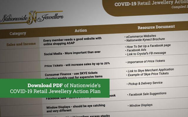 Nationwide issued a retail action plan for members last week.