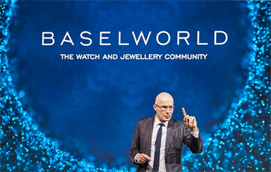 Amid reports of unreasonable cancellation policies from Basel hotels, Baselworld is offering financial flexibility for exhibitors. | Image: Michel Loris-Melikoff at the launch of Baselworld 2019.