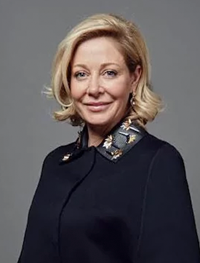 Nadja Swarovski will no longer lead Corporate Communications or Atelier Swarovski, but remains on the executive board and head of the Swarovski Foundation.