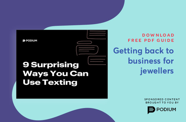 Download Free Guide: Getting back to business for jewellers