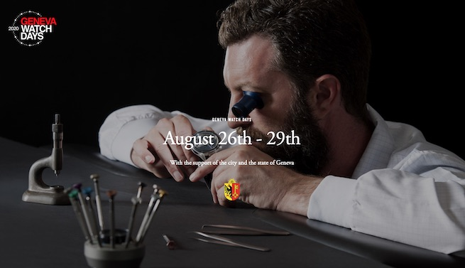 Swiss watch event confirmed for August