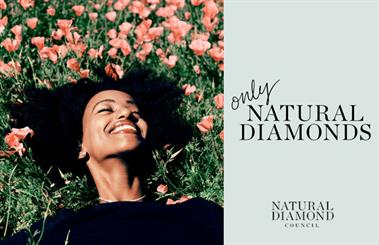 The Natural Diamond Council – previously the Diamond Producers Association – has launched its new campaign, 'Only natural diamonds'.