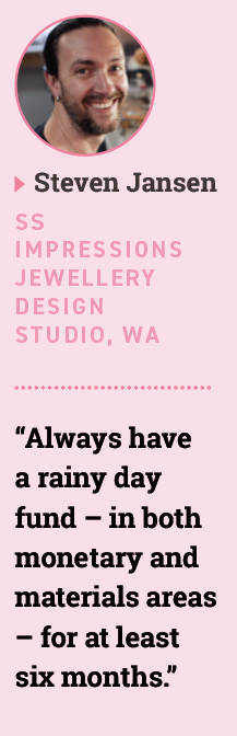 Steven Jansen, SS Impressions Jewellery Design Studio, WA