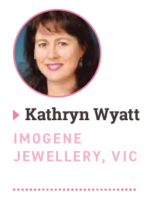 Kathryn Wyatt, Imogene Jewellery, VIC