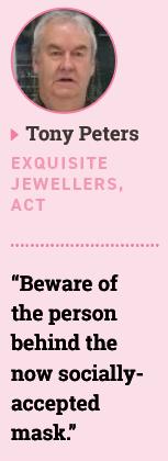 Tony Peters, Exquisite Jewellers, ACT