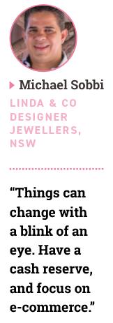Michael Sobbi, Linda & Co Designer Jewellers, NSW
