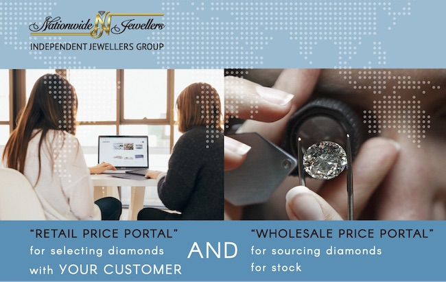 Global Diamond Vault is designed to assist retailers in sourcing the best value stones, both at wholesale and alongside customers.