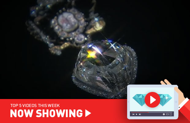 Now Showing: Incredible blue diamond, men's jewellery tips, and the treasures of the Tsars