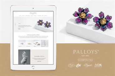 The new Palloys platform allows jewellers to order end-to-end jewellery products and services, from diamonds to refining.