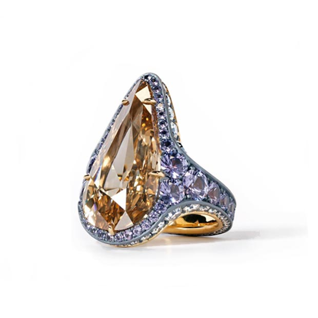 12-carat ring by David & Michael Robinson