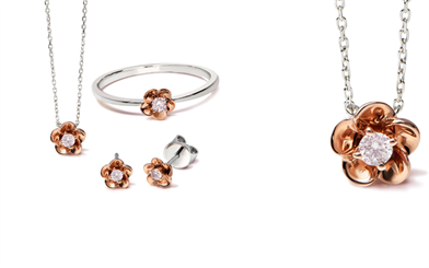 Blush Pink Diamonds collection.