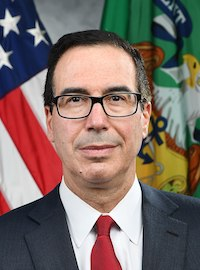 Steven Mnuchin, US Secretary of the Treasury