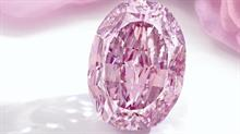 The Spirit of the Rose diamond was sold for a record $US26.6 million at auction this month. Image credit: Sotheby