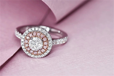 Diamond-set jewellery has been the strongest performing category over the past few months, drive by demand for Argyle pink diamonds. Image: Pink Kimberley, SAMS Group