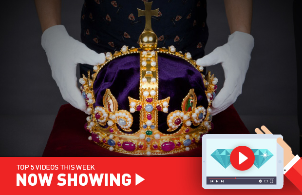 Now Showing: The making of Henry VIII's crown; Medieval gemstones; and how a watch tourbillon works