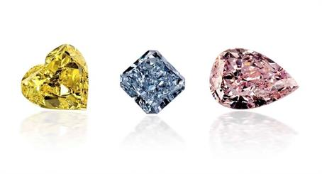 The prices of pink, yellow, and blue diamonds fell marginally in 2020, largely due to reduced trading volumes and logistical challenges.