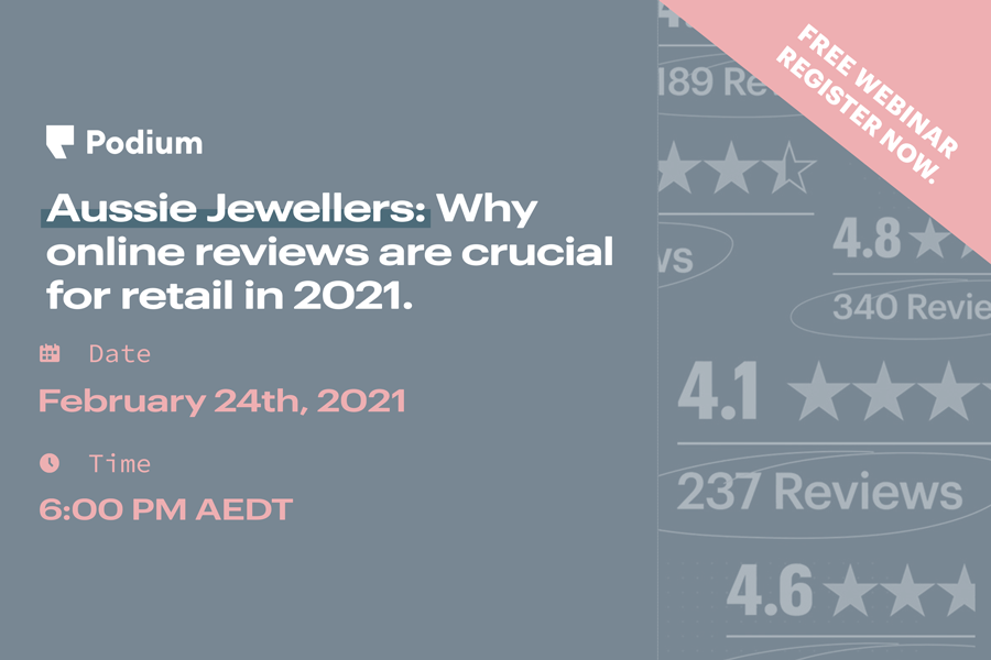 Aussie Jewellers: Why online reviews are crucial for 2021