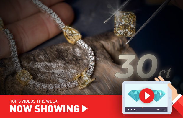 Now Showing: The original 'Kings of Bling'; making a 30-carat diamond necklace; and the history behind flowers in jewellery
