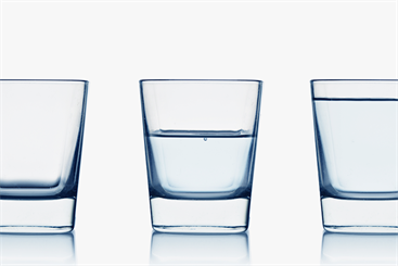 Challenge your assumptions and biases when assessing your 'glass'.