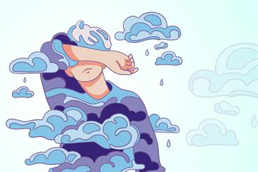 Cloud Fatigue: extreme tiredness resulting from mental or physical withdrawal from society. Symptoms include the desire to wear pants and get out of the house to hang out in the office.