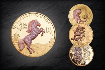 The latest edition to The Jewelled Range is The Jewelled Horse, following on from 2020's The Jewelled Tiger, 2019's The Jewelled Dragon, and 2018's The Jewelled Phoenix
