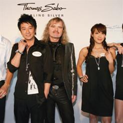 The Hong Kong launch of Thomas Sabo's 2008 collection