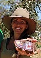 Sofia Andreou, opal retailer