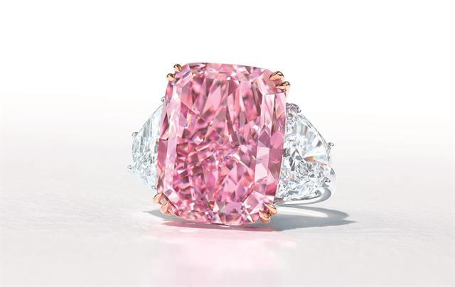 The 'Sakura Diamond' sold for $HK226.275 million at a Christie