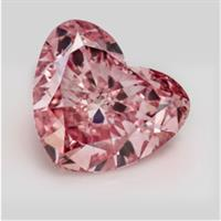 The Queen of Hearts diamond – a 1.48-carat fancy intense purplish pink, also from the Fitzpatrick Collection –is now the third-most expensive diamond ever sold in Australia.