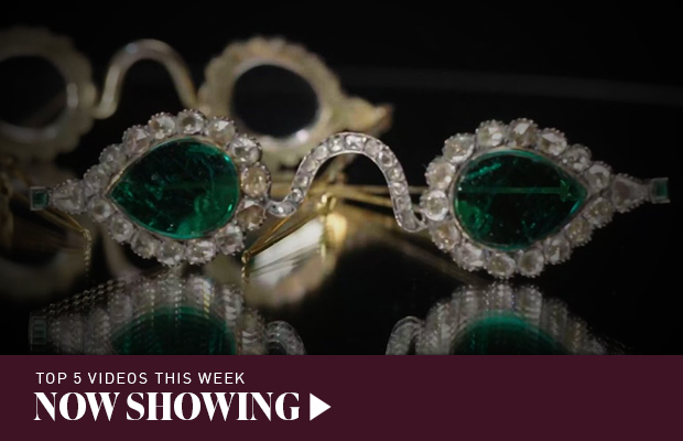 Now Showing: Cloning famous diamonds; emerald spectacles fit for an emperor; and beautiful opal patterns
