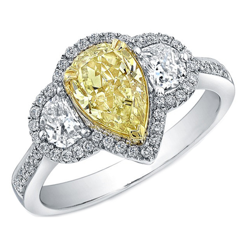 Macabi Diamond engagement ring