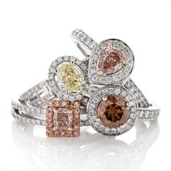 Lost River Diamonds rings