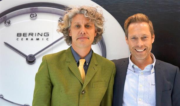 Nils Rasmussen & Michael Witt Johansen from Bering at the Sydney Trade Fair