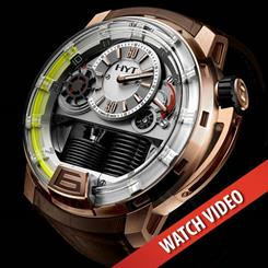 HYT H1 Hyrdo Mechanical Watch.