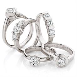 Passion8 bridal jewellery from Miller Diamonds