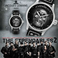 Jacques Lemans Expendables 2 watch range