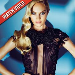 Candice Swanepoel was recently featured in a Juicy Couture campaign video