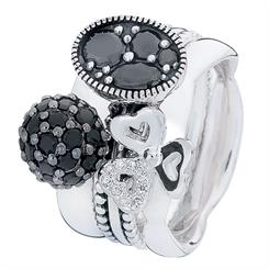 """Girls Night Out"" combination ring"