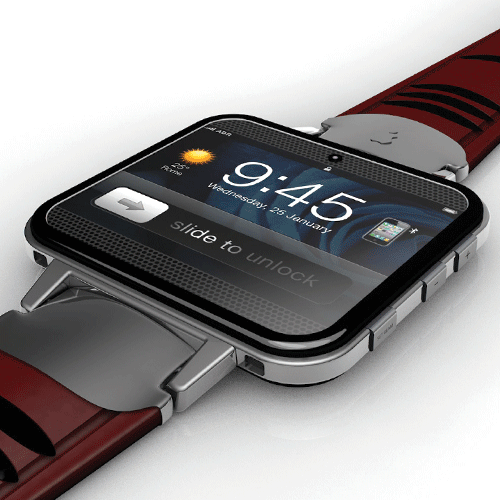 ADR Studio rendered its own impression of an iWatch, which has circulated the web. www.adr-studio.it
