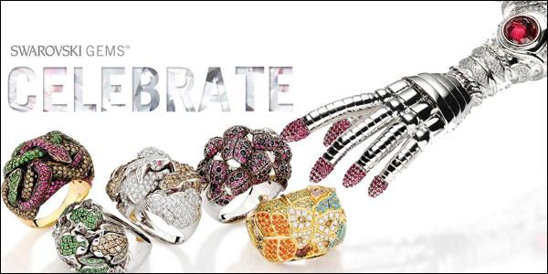 Click the image to view an extensive collection of jewellery designs as seen in Gem Visions by Swarovski Gems