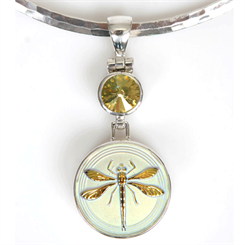Renee Blackwell Design's dragonfly pendant