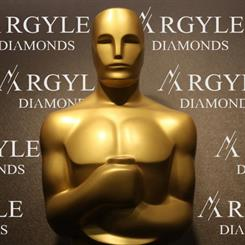Rio Tinto hopes its Argyle diamonds will be on display at the 2013 Oscar Awards